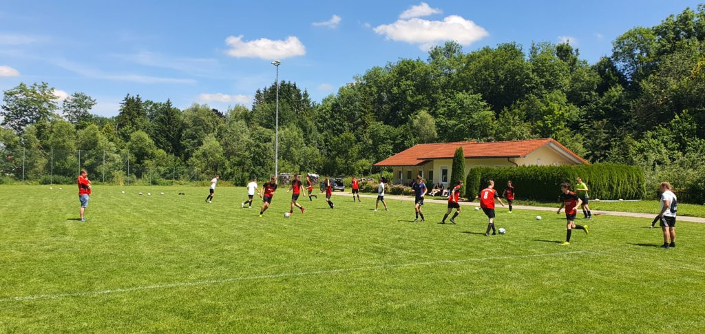 A-Jugend Trainingsstart